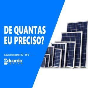 Quantas Placas Solar - Carga de Bateria - Energia Solar | Eduardo Aquino