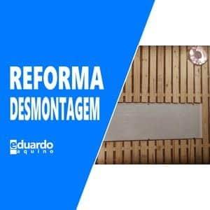 Reforma e melhorias no Laboratório - A desmontagem - Site Eduardo Aquino