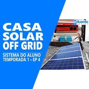 Gerador Energia Solar OffGrid - ALUNO Alan Delon - Site Eduardo Aquino