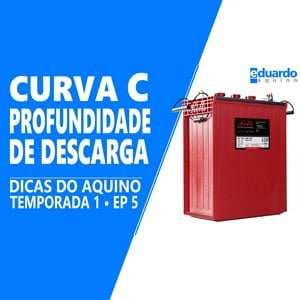 Bateria Estacionária - Entenda o que é Profundidade de descarga e Curva de Descarga - Site Eduardo Aquino