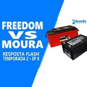 Bateria Estacionária - Qual é Melhor - Moura ou Freedom - Site Eduardo Aquino