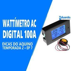 Aprenda Ligar Wattímetro Digital AC na Energia Solar