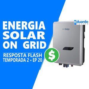 Energia Solar OnGrid é viável, Compensa?