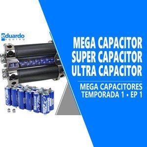 Mega Capacitor, Super Capacitor 30F para Energia Solar - T8 • #280