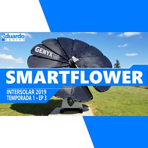 Tracker Solar SmartFlower de Alto Padrão da Genyx - Site