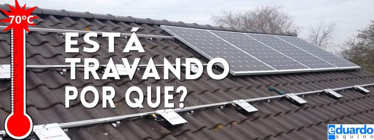 Micro Inversor Solar Entrando em Proteção Saiba Por Quê
