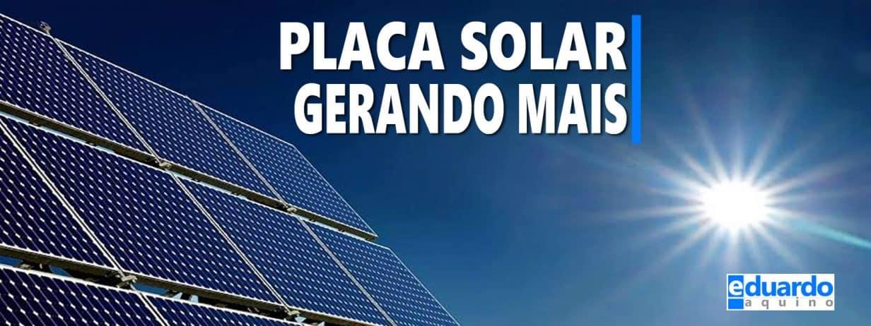 Placa Fotovoltaica pode gerar mais | Eduardo Aquino