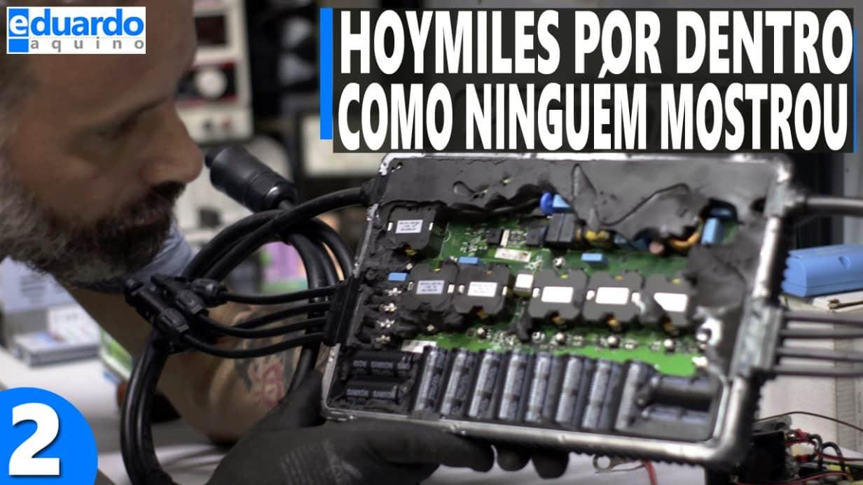 Microinversor Hoymiles por Dentro - Remoção Potting