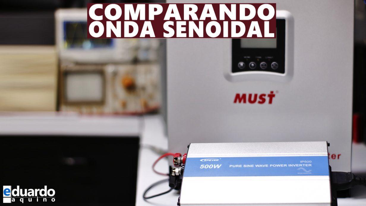 INVERSOR HÍBRIDO Must 3K e Epever 500W IP500 - Site Eduardo Aquino