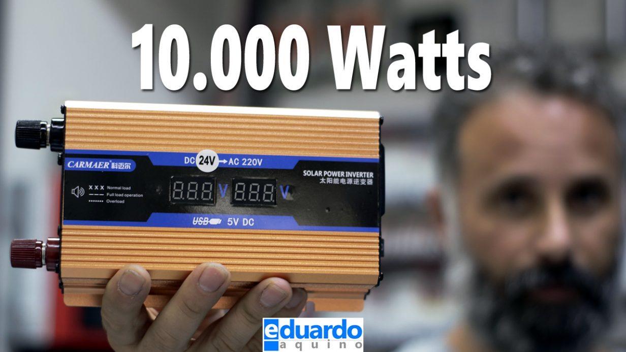 Inversor OffGrid 10000watts que Acabei de Receber da WISH