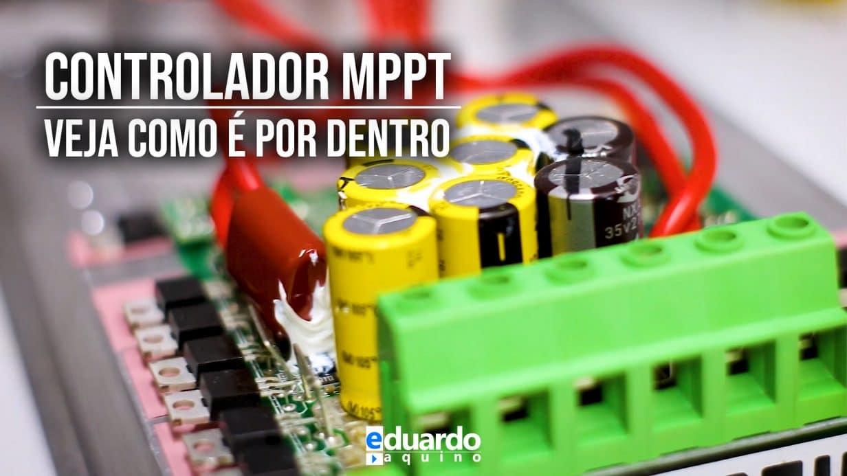 Controlador de Carga MPPT, como é por DENTRO