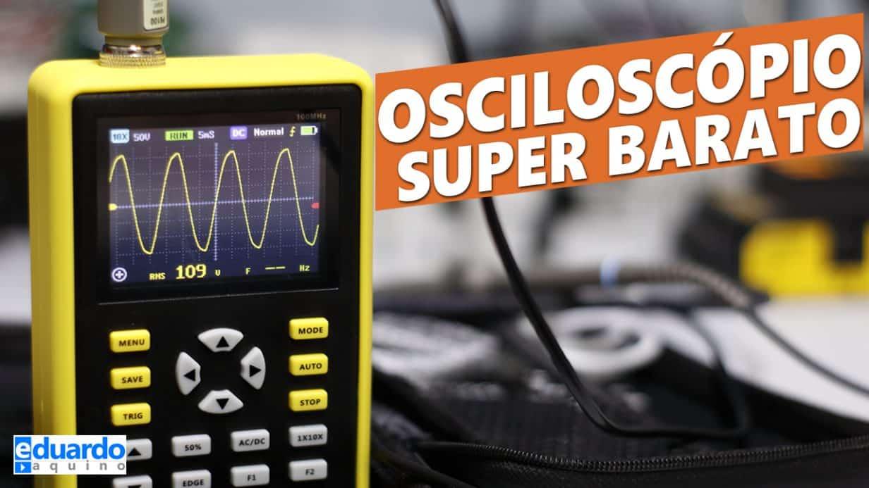 Osciloscópio Digital Portátil (FÁCIL DE USAR) Banggood