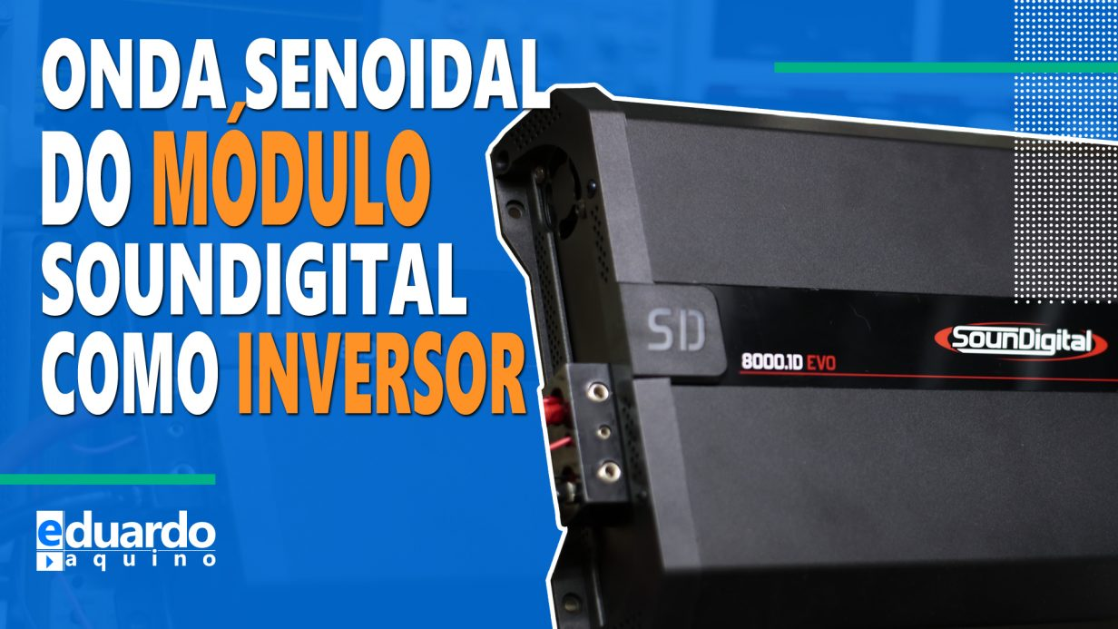 Inversor 8000W com Módulo Automotivo SounDigital - Thumb C