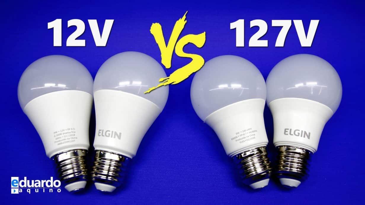 Descubra a VERDADE sobre qual Lâmpada GASTA MAIS, 12V ou 127V