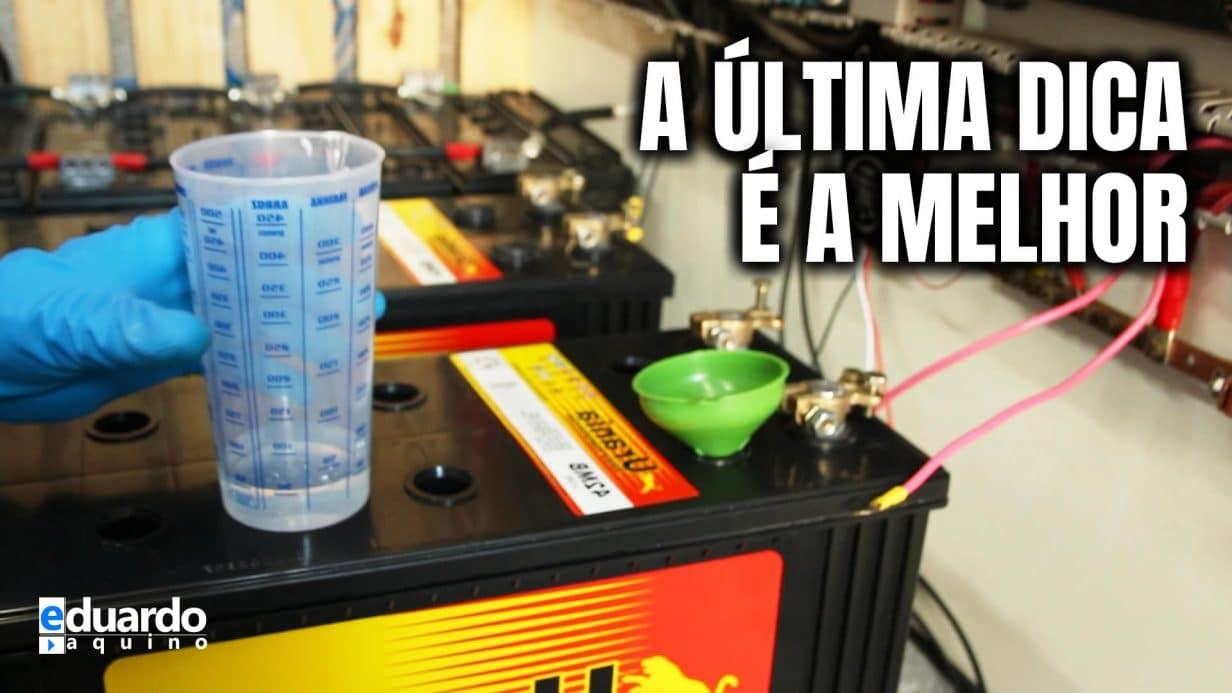 Dicas para Manutenção de Baterias