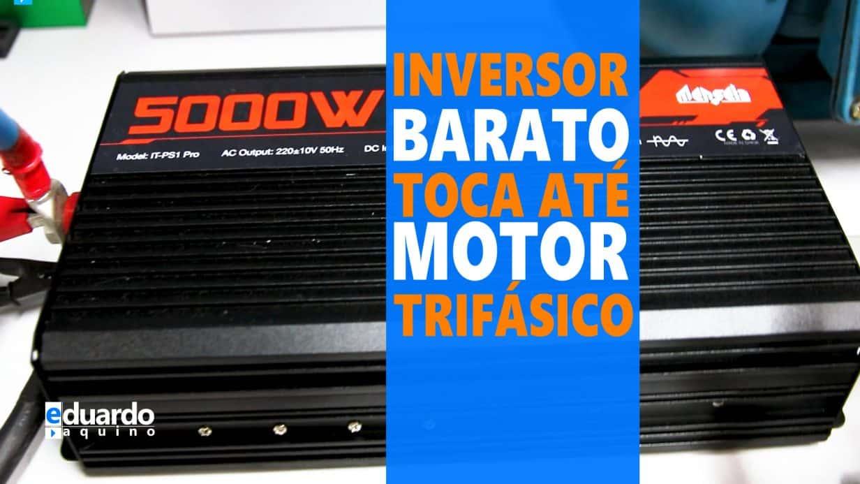 Inversor OffGrid 5000W Pico Levando Surra no TESTE de FOGO