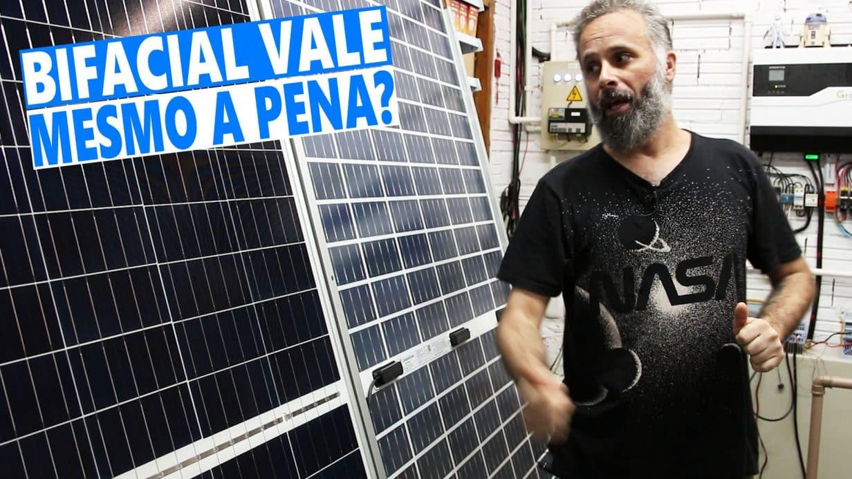 Painel Solar BIFACIAL Será que Compensa - Vale Apena