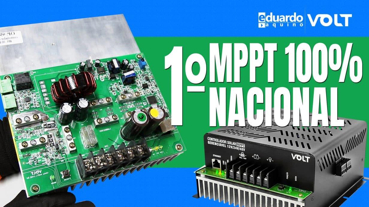 Controlador MPPT 100% Nacional