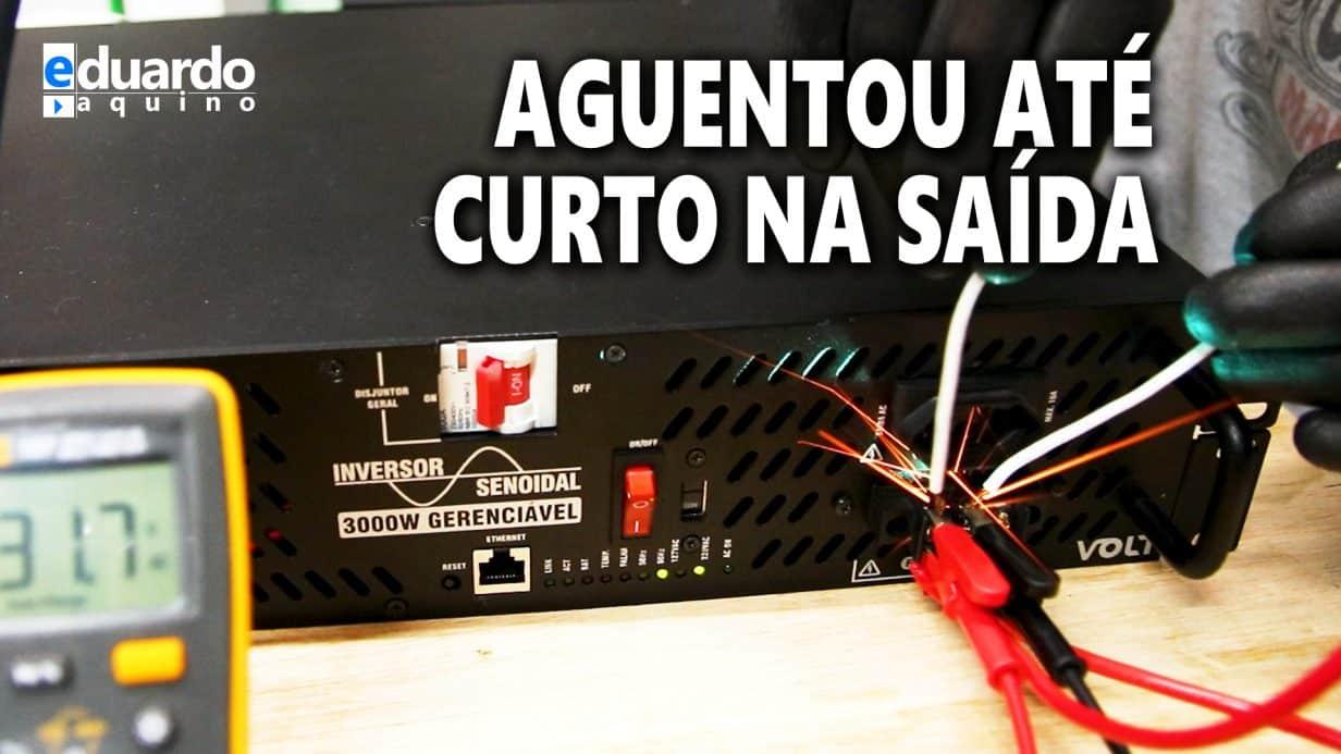 INVERSOR 3000W 100% Nacional FEZ Bonito no Teste de Fogo - VOLT